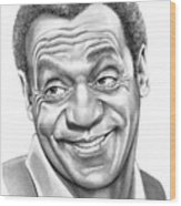 Bill Cosby Wood Print