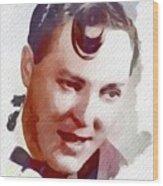 Bill Haley, Music Legend Wood Print