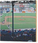 Bill Meyer Stadium, Aa Southern League Wood Print