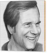 Bill Paxton Wood Print