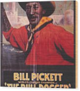 Bill Pickett (1870-1932) Wood Print by Granger
