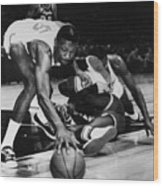 Bill Russell (1934- ) Wood Print by Granger