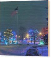Billerica Common 001 Wood Print