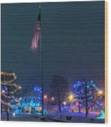 Billerica Common 002 Wood Print