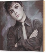 Billie Joe Armstrong Wood Print