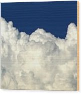 Billowing Clouds 4 Wood Print