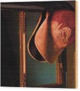 Bill's Cap Wood Print