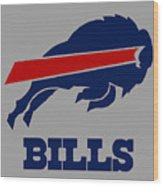 Bills Football Club Wood Print