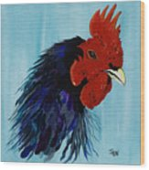 Billy Boy The Rooster Wood Print