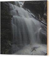 Billy Green Falls Wood Print