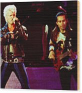 Billy Idol 90-2305 Wood Print