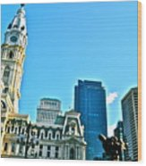 Billy Penn Wood Print by Brynn Ditsche