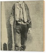 Billy The Kid 1859-81, Killed Twenty Wood Print