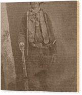 Billy The Kid Wood Print