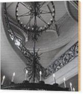 Biltmore Grand Staircase  Wood Print