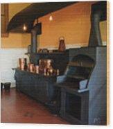 Biltmore Stove Wood Print