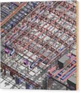 Bim Coordination Model Wood Print