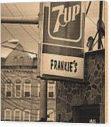 Binghampton New York - Frankie's Tavern Wood Print