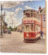 Binns Tram 5 Wood Print