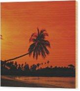 Bintan Island Beach Wood Print
