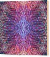 Biomorphic Syntax  Wood Print