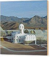 Biosphere 2, Arizona Wood Print