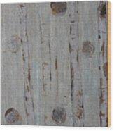 Birch - Fog 2 Wood Print