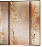 Birch Peel Tryptich Wood Print
