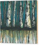 Birch Trees #1 Wood Print