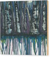 Birch Trees #4 Wood Print