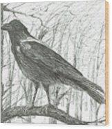 Bird, 2011 Wood Print