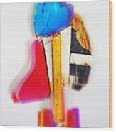 Bird Dude Wood Print