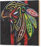 Bird Head Wood Print