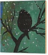 Bird IIi Wr Wood Print