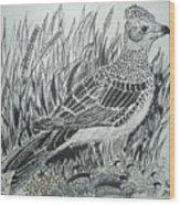 Skyirk Bird Wood Print