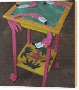 Barefootin' Table  Wood Print