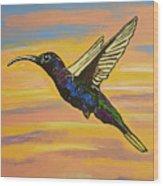 Bird Of Beauty, Superwoman Wood Print