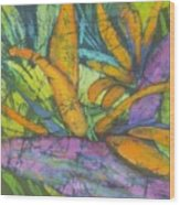 Bird Of Paradise I Wood Print