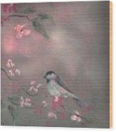 Bird Study Wood Print