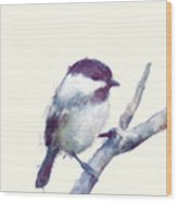 Bird // Trust Wood Print