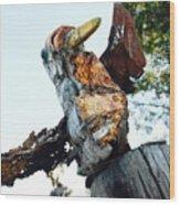 Birdlike Wood Print