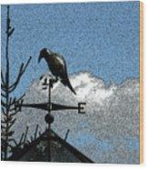Bird's Eye View I Wood Print