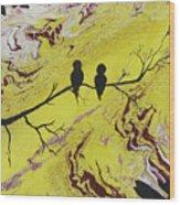 Birds Eye View Wood Print