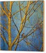 Bird's The Word Wood Print