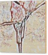 Bird's Views Wood Print