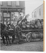 Birk Brothers Brewing Company C. 1895 Wood Print