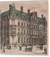 Birmingham And Midland Eye Hospital United Kingdom 1882 Wood Print by Payne and Talbot