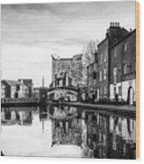 Birmingham Canal Wood Print