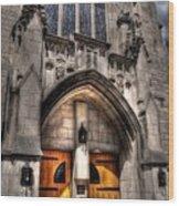 Birmingham Church Wood Print
