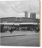 Birmingham Outdoor Market And Rag Market Uk Wood Print